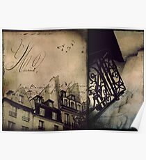 { parisian diptych } Poster