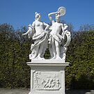 In The Garden, Belvedere Palace by Lee d'Entremont