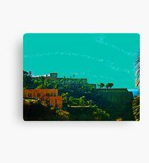 Italian Castle Canvas Print