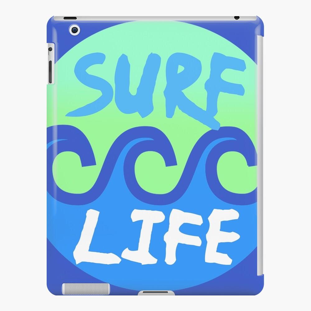 Surf Life Surf Surfers Surf Surf Funda y vinilo para iPad