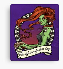 Zombies are Forever Canvas Print