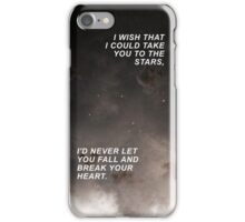 One Direction Through The Dark Lyrics  iPhone Case/Skin
