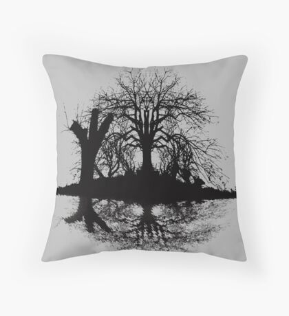 Wicked Pond Throw Pillow