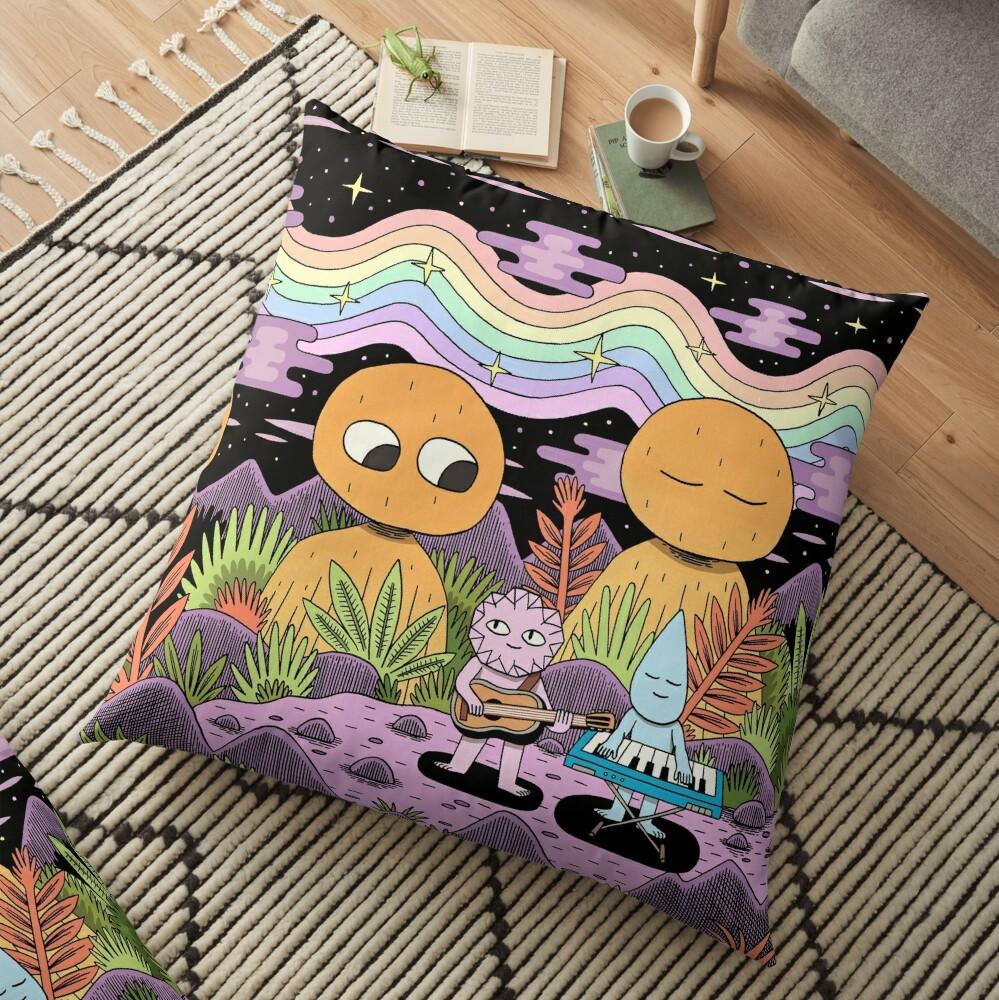 Spectrum Floor Pillow