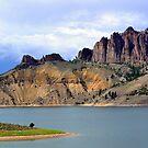 Blue Mesa by Jody Johnson
