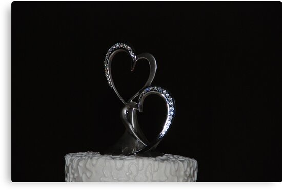 Heart-Shaped Cake by Vonnie Murfin