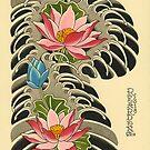 Lotus and Water by johnreardontat2