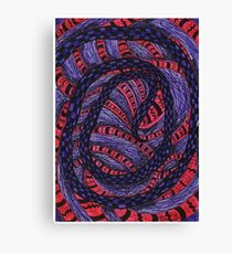Complexity  - India Inspirations Canvas Print