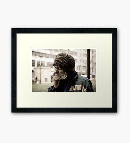 A Life of Burden  Framed Print