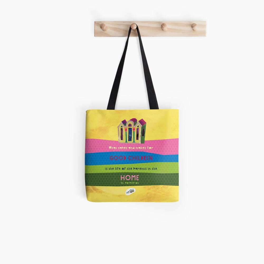 St. Porphyrios quote Tote Bag