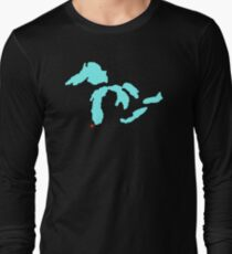 The Great Lakes-Chicago T-Shirt