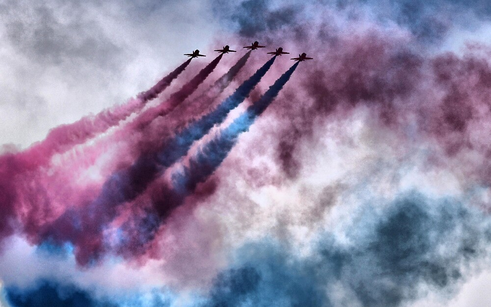 painting the sky RAF style by SNAPPYDAVE