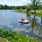 Paddle Boat on Verona Park Lake by Jane Neill-Hancock