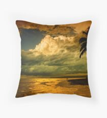 Sunset - Dominican Republic Throw Pillow