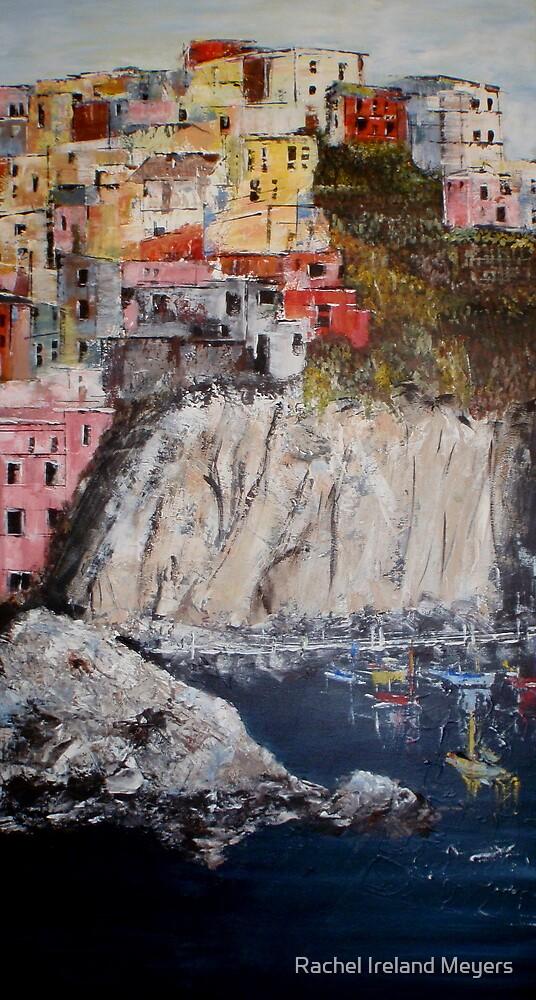 Harbour of Vernazza by Rachel Ireland Meyers