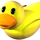 Yellow Rubber Duckie by bmgdesigns