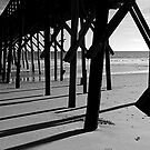 North Topsail Pier by mojo1160