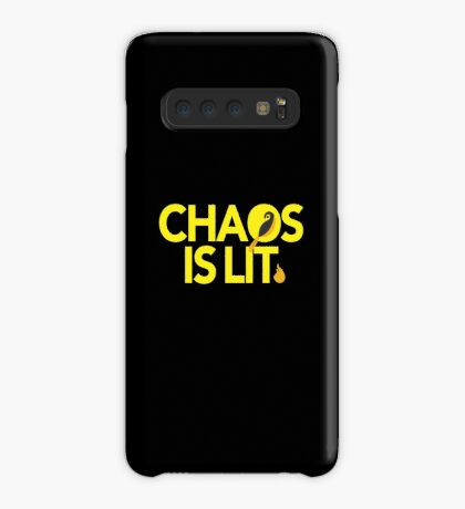 Chaos Is Lit  Case/Skin for Samsung Galaxy
