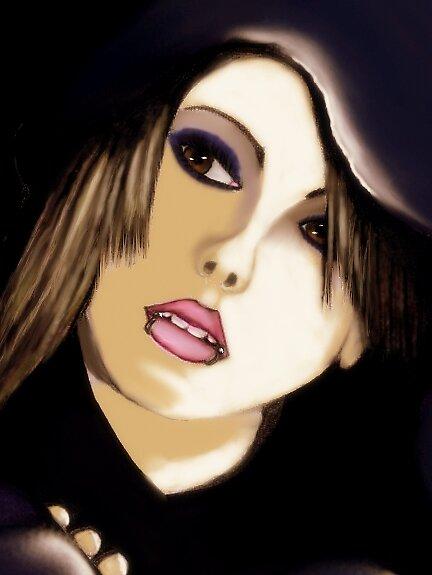 Goth Gal by VALIANT72