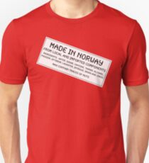 Traces of Nuts - Norway T-Shirt
