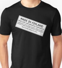Traces of Nuts - Finland T-Shirt
