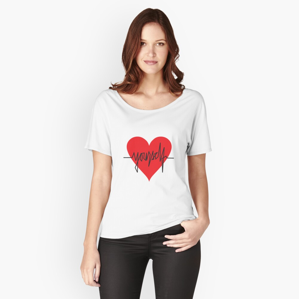 love yourself - zachary martin Relaxed Fit T-Shirt