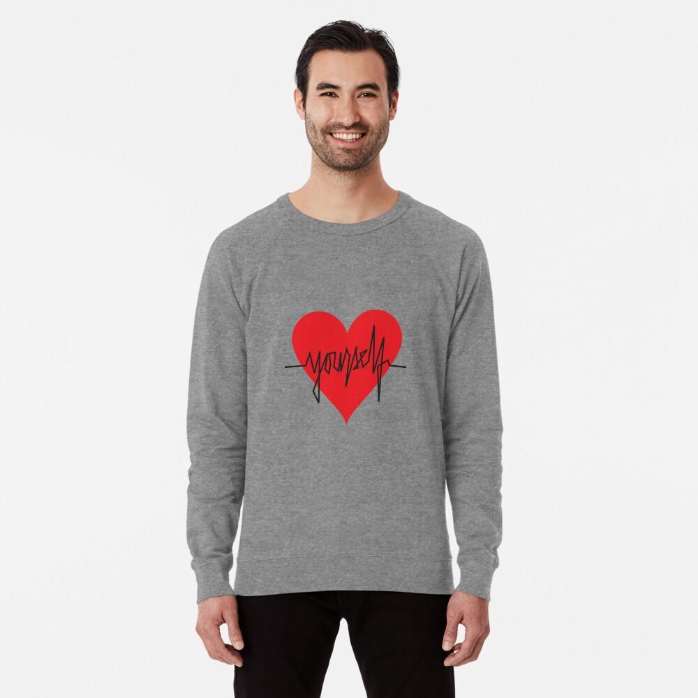 love yourself - zachary martin Lightweight Sweatshirt