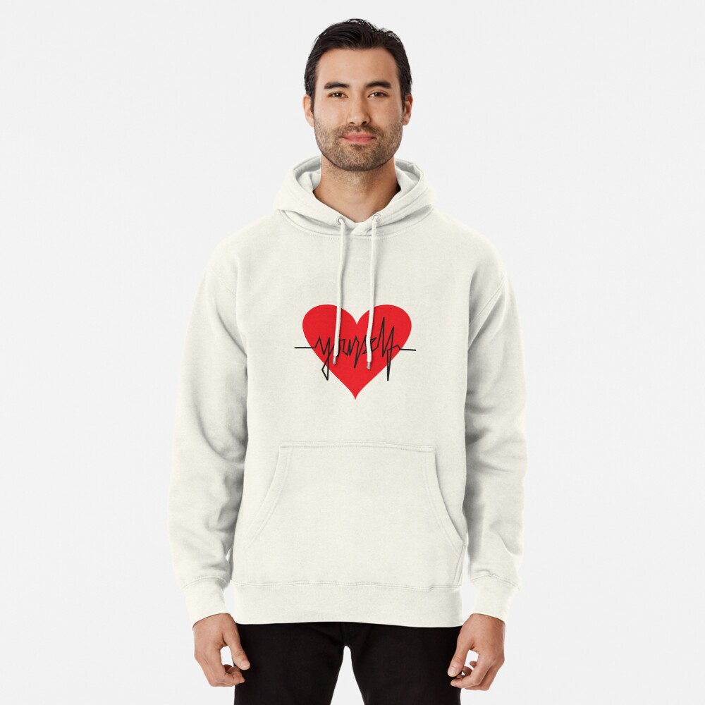 love yourself - zachary martin Pullover Hoodie