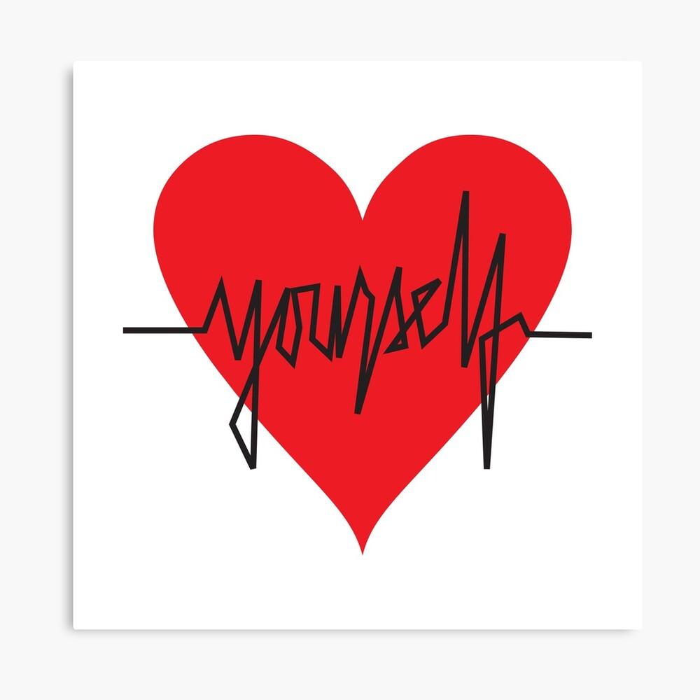 love yourself - zachary martin Canvas Print