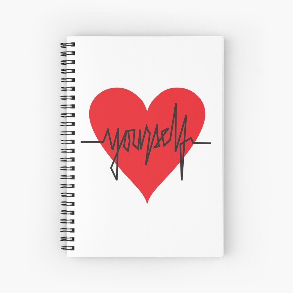 love yourself - zachary martin Spiral Notebook