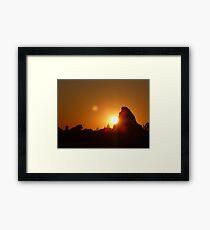 Matterhorn at Sunset Framed Print