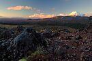 Central Plateau Sunset by Michael Treloar
