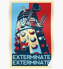 EXTERMINATE Hope Poster