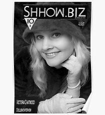Shhow.Biz BW Poster