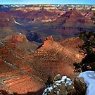 Grand Canyon - Snow on the Rim by rrushton