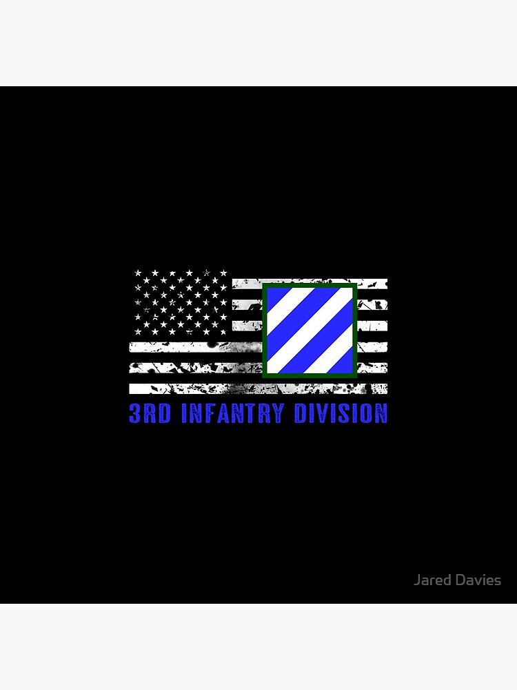 3rd Infantry Division (Distressed Flag) by MilitaryCandA