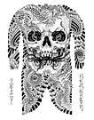 Skull Dragon by johnreardontat2