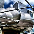Pritzger Pavilion 2, Chicago, Frank Gehry by Crystal Clyburn