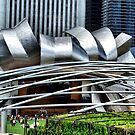 Pritzger Pavilion 3, Chicago, Frank Gehry by Crystal Clyburn