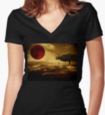 The Prophet Women's Fitted V-Neck T-Shirt