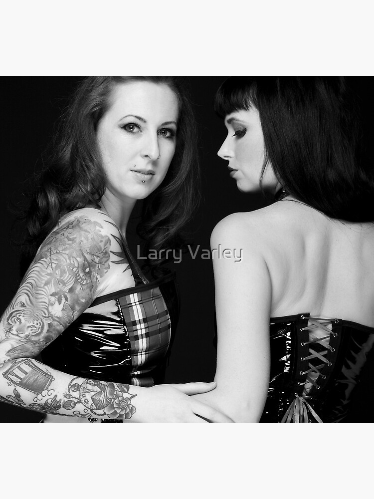 Samantha and Kitty by LarryVarley