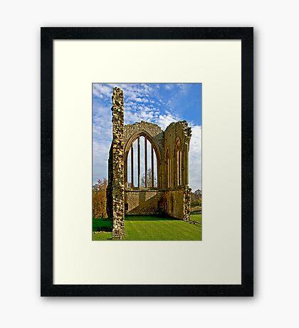 Egglestone Abbey Ruins - Co Durham Framed Print