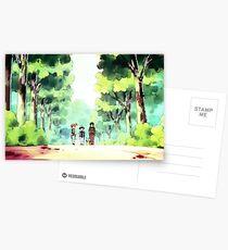 Asche und Freunde! Postkarten