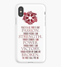 The Sith Code iPhone Case
