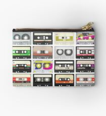 Cassette Tapes (mixtape Love) Zipper Pouch