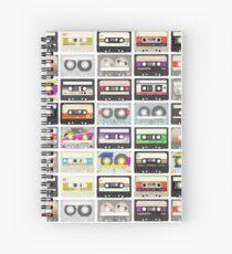 Cassette Tapes (mixtape Love) Spiral Notebook