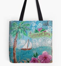 Summertime by Jan Marvin Tote Bag