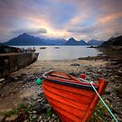 Elgol Boat... by David Mould