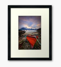 Elgol Boat... Framed Print