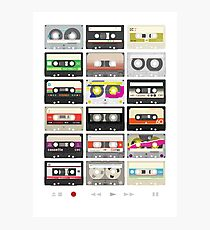Cassette Tapes (mixtape Love) Photographic Print